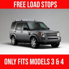 2 x Rhino Delta Roof Bars - Land Rover Discovery