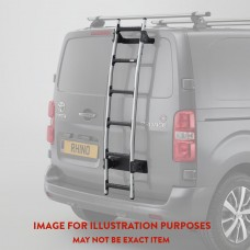 Rhino Aluminium 6 Step Rear Door Ladder AL6-LK41 (inc bespoke fitting kit)