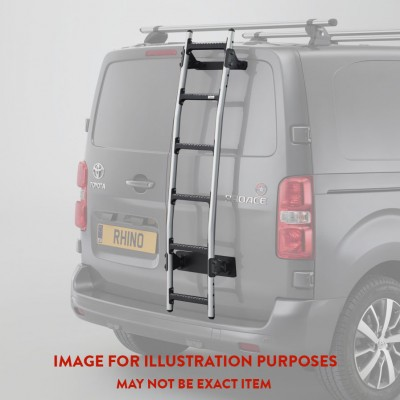 Rhino 8 Step Rear Door Ladder Ducato 1994-2006