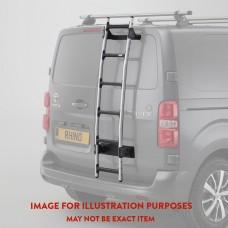 Rhino 8 Step Rear Door Ladder (inc bespoke fitting kit)