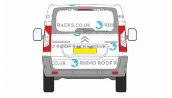 Citroen Dispatch SWB L1 Tailgate Door Roof Racks