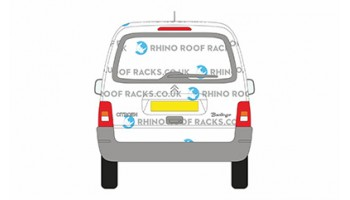 Berlingo First Tailgate - Roof Racks and Bars
