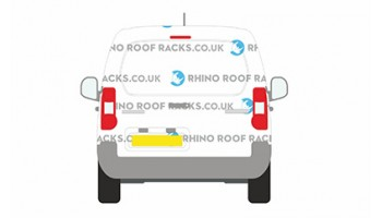 Berlingo SWB 2008 on - Tailgate Door