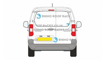 Berlingo SWB 2008 on - Twin Doors