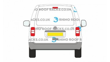 Caddy Maxi L2 Tailgate - Roof Racks and Bars