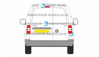 Caddy SWB Twin Rear Doors - Roof Racks and Bars