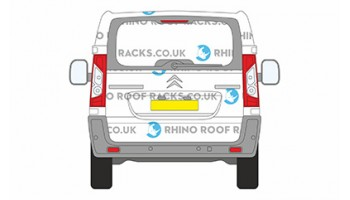 Citroen Dispatch LWB L2 Tailgate Doors Roof Racks