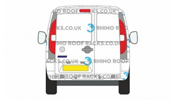 Fiat Doblo 2000 - 2010 Twin Rear Doors - Roof Racks