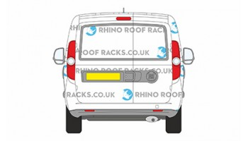 Doblo SWB 2010 on With Twin Rear Doors