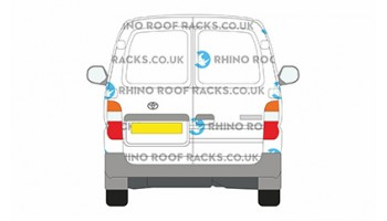 Toyota Hi-Ace LWB Low Roof Twin Rear Doors