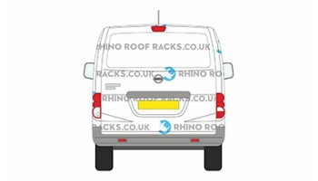 Nissan NV200 Tailgate Roof Racks - Roof Bars