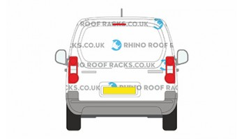 Partner SWB L1 With Single Rear Tailgate Door