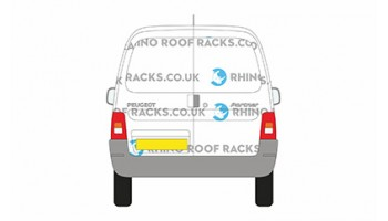 Peugeot Partner Origin Twin Rear Doors - Roof Racks