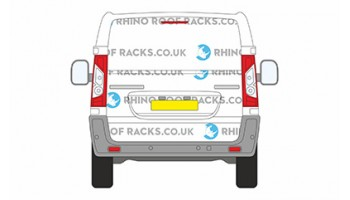 ProAce SWB Low Roof Tailgate
