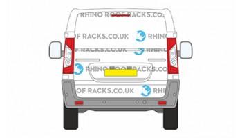 Toyota ProAce SWB L1 Tailgate Doors - Roof Racks