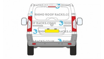 Scudo LWB  Tailgate Roof racks and bars