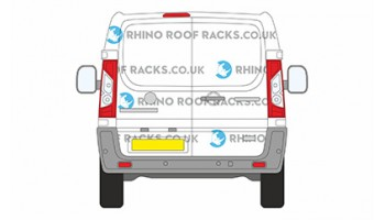 Scudo LWB Twin Rear Doors Roof racks and bars