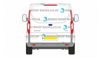 Ford Transit Custom SWB Low Roof Tailgate Racks and Roof Bars