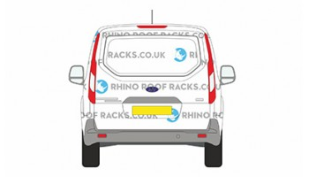 Ford Transit Connect SWB 2014 on - Roof Racks