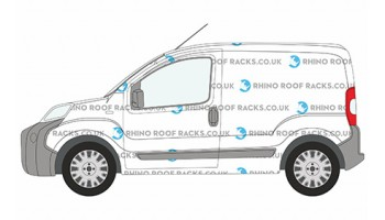 Fiat Fiorino Roof Racks and Roof Bars