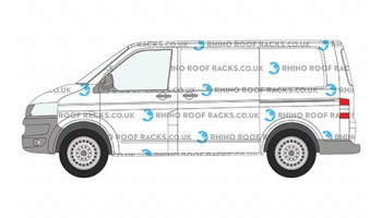VW Transporter T6 Rhino Roof Racks and Roof Bars