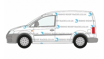 VW Caddy Roof Racks and Roof Bars