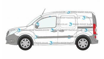 Mercedes Citan Roof Racks and Roof Bars