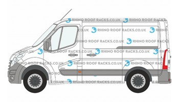 Renault Master Rhino Roof Racks and Bars