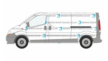 Renault Trafic Roof Racks and Roof Bars