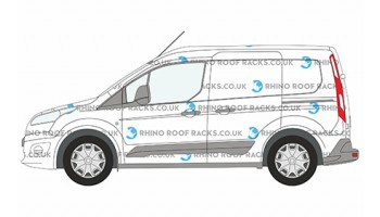 Ford Transit Connect 2014 on Roof Racks and Roof Bars