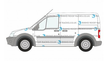 Ford Transit Connect Roof Racks and Roof Bars