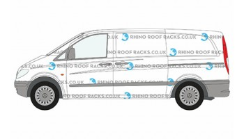 Mercedes Vito Roof Racks and Bars