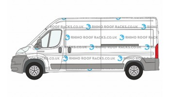 Boxer L3 LWB High Roof Racks and Bars