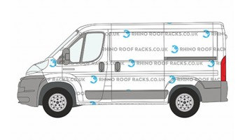 Boxer L1 SWB Low Roof Racks and Rhino Bars