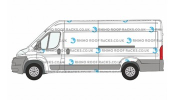 Boxer L4 ELWB High Roof Racks and Bars