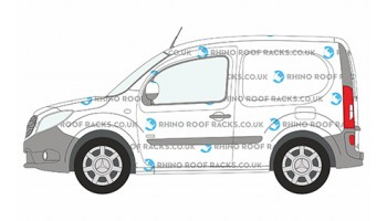 Mercedes Citan Compact (SWB) (L1) Roof Racks and Bars