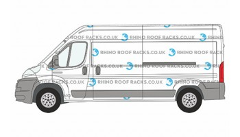 Ducato LWB L3 High Roof - Roof Racks and Bars