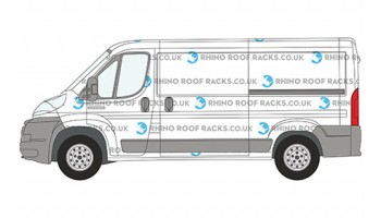 Ducato MWB L2 Low Roof - Roof Racks and Bars