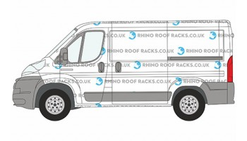 Ducato SWB-L1 Low Roof Racks and Roof Bars