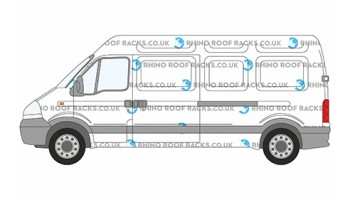 Interstar LWB High Roof Racks and Roof Bars