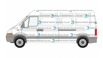 Master LWB High Roof Racks and Roof Bars