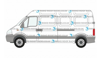 Movano LWB High Roof Racks and Roof Bars