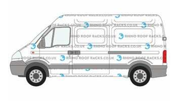 Movano MWB High Roof Racks and Roof bars