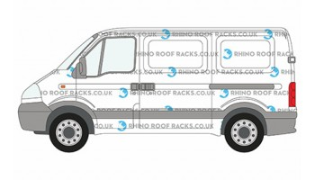 Movano SWB Low Roof Racks and Bars