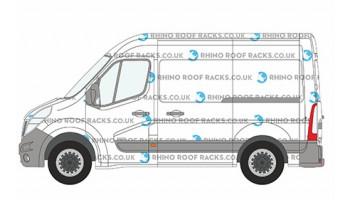 NV400 L1 (SWB) H2 (High Roof)