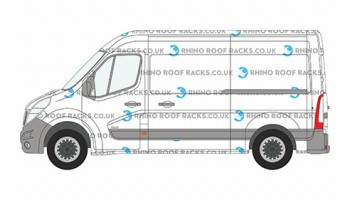 NV400 L2 (MWB) H2 (High Roof)