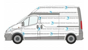 Primastar LWB High Roof Racks and Bars