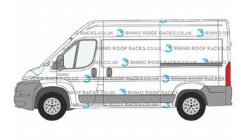 Relay MWB L2 High Roof - Rhino Roof Racks and Bars