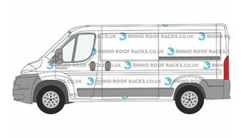 Relay MWB L2 Low Roof - Rhino Roof Racks and Bars