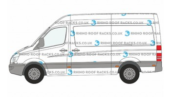 Sprinter MWB High Roof Racks and Bars